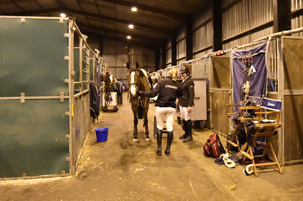 BS Hogmanay Show 27th-1st Stabling (Back Of The Building)
