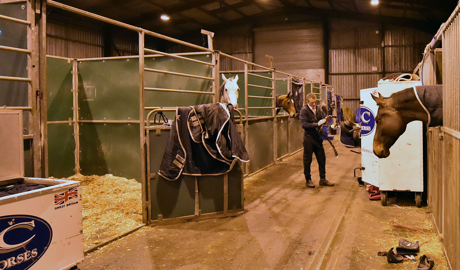 Scottish Friends Open Show Stabling