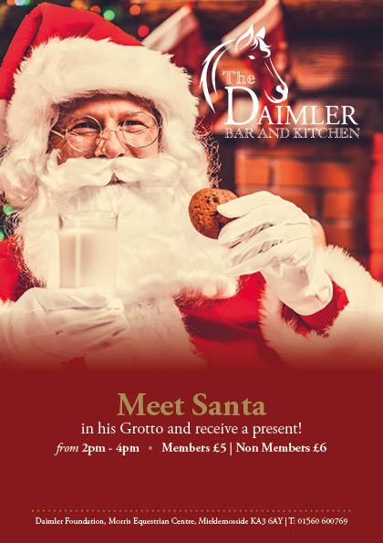 Meet Santa In His Grotto